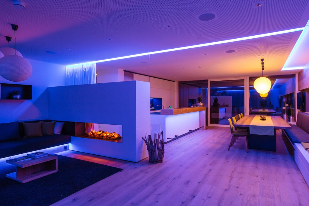 Lighting - Home Automation Page